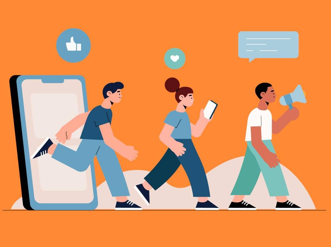 Social media marketing for Yoga School